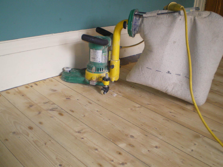 sand floor machine